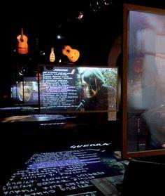"""Studio Azzurro """"Fabrizio De Andre'. La Mostra"""" 2008"""