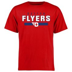 Dayton Flyers Team Strong T-Shirt - Red