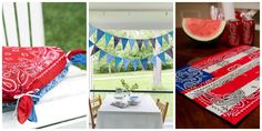 18 Clever Summer-Ready Crafts You Can Make With Bandannas  - CountryLiving.com