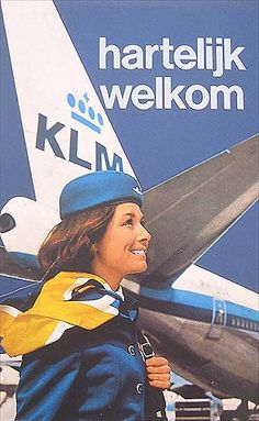 KLM 1972 Brochure