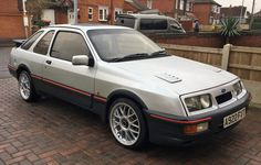 Ford Sierra, Ford Classic Cars, Car Set, Car Ford, Sexy Cars, Modern Classic, Old School, Vehicles, British