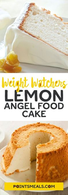 10 Easy Angel Food Cake Recipes: That Melt In Your Mouth! – Tasteful Tavern 10 Easy Angel Food Cake Recipes: That Melt In Your Mouth! Ww Desserts, Weight Watchers Desserts, Healthy Desserts, Angel Food Cake Desserts, Light Desserts, Weight Watchers Angel Food Cake Recipe, Dessert Recipes, Cheesecake Recipes, Healthy Meals