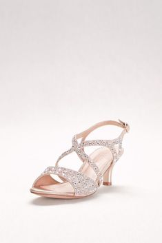8eb18084f4 Opulent Crisscross Strappy Low Wedge Sandals - Silver, 7.5 Women's ...