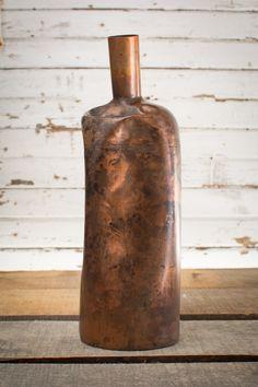 """Industrial Decanter - Large - 5 X 15.5""""  #homedecor #vintagedecor"""