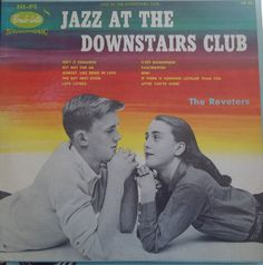 Jazz at the Downstairs Club, The Revelers, Vintage Record Album, Vinyl LP, Classic Jazz Music, Instrumental Music, by VintageCoolRecords on Etsy