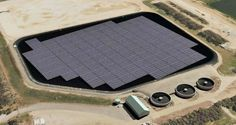 An Australian-first floating solar power plant is expected to be operational in South Australia by early April, with construction about to get underway. #solar #solarbusiness
