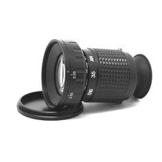 Opteka Micro Professional Metal Director's Viewfinder with Zoom Beats Headphones, Over Ear Headphones, Telescope, Lenses, Amazon, Metal, Glass, Hunting, Riding Habit