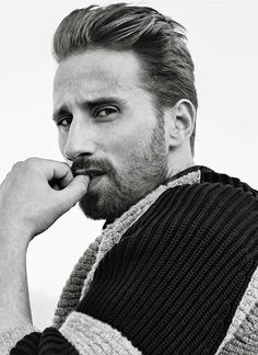 Matthias Schoenaerts photographed for InStyle (December 2015)