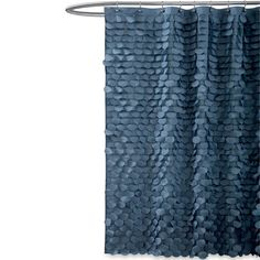 Beautiful Gigi White Fabric Shower Curtain   BedBathandBeyond.com | For The Home |  Pinterest | White Fabrics And Fabrics