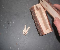 This instructable will show how I turned a scrap piece of wood into a secret Hide - A - Key. This is another project that cost me close to nothing to build....