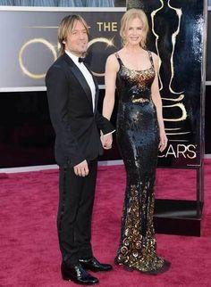 Keith Urban and Nicole Kidman #Oscars