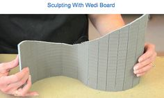 Watch how easy it is to sculpt with wedi board. A new frontier with unlimited possibilities! CLICK here to watch: