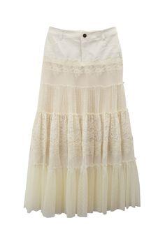リメイク風ロングスカート
