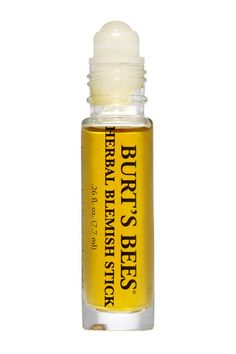 SOS (Save Our Skin!) The softer answer to salicylic acid, Burt's Bees Herbal Blemish Stick targets spots and inflammation to deliver clear skin with a gentle yet fast-acting blend of tea tree oil, willow bark, and calendula. Burts Bees, Organic Skin Care, Natural Skin Care, Natural Beauty, Eco Friendly Makeup, Homemade Beauty Products, Natural Products, Makeup Products, Hair Products