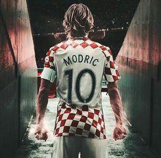 'Modric' Poster by Slambss World Cup Russia 2018, World Cup 2018, Fifa World Cup, Football Is Life, Football Soccer, Real Madrid Logo, Fifa 2018, Red Star Belgrade, E Sport
