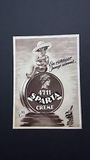 Ein richtiger Junge nimmt.. - 4711  SPARTA  CREME - Werbung / Reklame - 1952