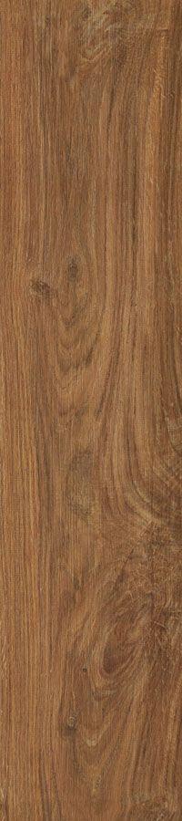 #Magnolia in #Chestnut #WoodLook #HD #porcelain #tile - Available from #MidAmericaTile | #WoodFloor #Plank #PlankTile #brown
