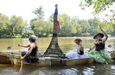"RiverFest - ""anything that floats parade"" Asheville - Google Search"