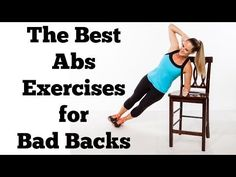 The Best Abs Exercises (That Won't Hurt Your Back) | Full 10 Minute Abs Workout for Bad Backs - YouTube