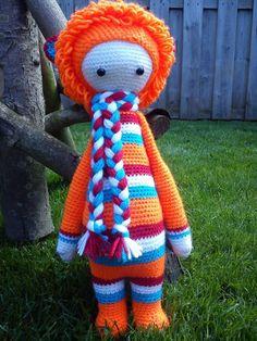 LONI the lion made by Danielle de Roo-Pool / crochet pattern by lalylala