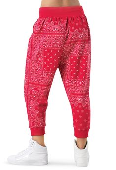 Bandana Harem Pants
