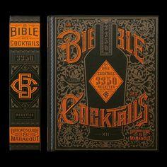 La Bible des Cocktails. French publication. Love this cover design!