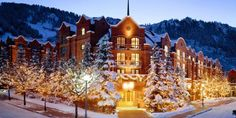 Where: Aspen, COWhy it's perfect for skiiers and non-skiiers: Located at the base of the Aspen Mount... - Provided by Marie Claire