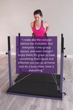 With The Evolution Training System, you can get assistance, use resistance, work on your cardio, and even do yoga! You can use our exercise library and follow our workout programs... or you can create your own! #homegym #EvolutionVN
