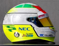 F1 Helmet 2012 Sergio Perez (Sauber F1 Team)