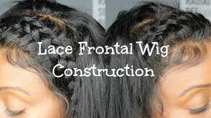 Lace Frontal Wig Construction