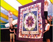 There are several benefit auctions each year in Holmes County, Ohio where you will always find beautiful quilts