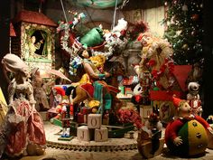 Lord & Taylor Holiday Window Displays: My Favorite Christmas Toys by christiNYCa, via Flickr