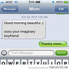tumblr post | funny mom prank text message