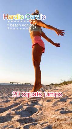 Basic Workout, Gym Workout For Beginners, Gym Workout Tips, Fitness Workout For Women, Fitness Goals, Beach Workouts, Fun Workouts, Dance Workout Videos, Workout Programs