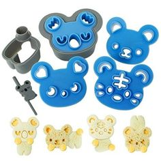 CuteZCute Bento Sandwich Cutter Cookie Stamp - Cuddle Palz for Dec...