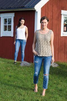 Shirts & Tops, Knit Crochet, Crochet Sweaters, Capri Pants, Crochet Patterns, Knitting, Women, Vests, Fashion