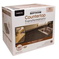 Another great Transformations product that updates the look of your existing countertops. 30 sq. ft of coverage for $125