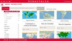 """Hola: Compartimos un interesante sitio sobre """"1500+ Mapas Interactivos en Español para la Clase de Geografía"""" Un gran saludo.  Visto en: mapasinteractivos.didactalia.net Desde el portal de Di..."""