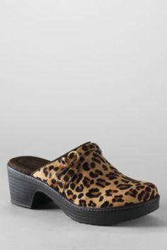 Women's Carly Calf Hair Clog Shoes