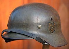 WW2 german steel helmet