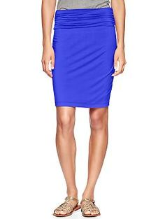 Foldover pencil skirt | Gap This might look terrible on me.