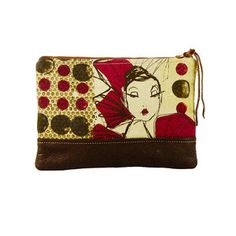 Sunday Clutch Large Multi now featured on Fab.