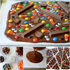 Chocolate Candy Bark