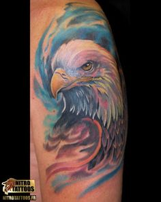 tatouages aigles #tatouage #tatouages #tattoos #tattoo #nitrotattoos