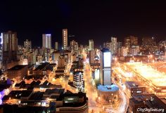 Durban, South Africa @ night