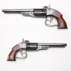 Savage Navy Model Revolver - Most of the .36 ca percussion revolvers were produced under gov contracts. Our GOTD went to both Army & Navy buyers. Far more stayed on shore, with about 12,000 of the 20,000 manufactured being delivered for U.S. Army utilization. As on earlier North & Savage handguns, the outer ring trigger rotated the cylinder & the smaller forward trigger dropped the cocked hammer.