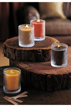 Natures Light by PartyLite Candles    Amberwood-my favorite. www.partylite.biz/christamoy