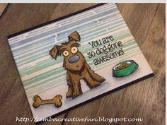 Cimbacreativefun: Dog-gone Awesome  tim holtz crazy dogs