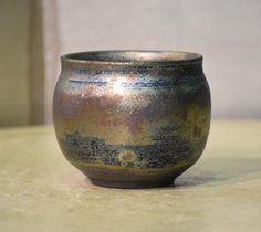 Japanese tea cup (Bizenyaki?)