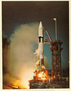 First Atlas-Centaur launch #flickr #rocket #retro